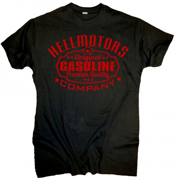"Herren Old School T-Shirt ""Gasoline"" Red Edition"