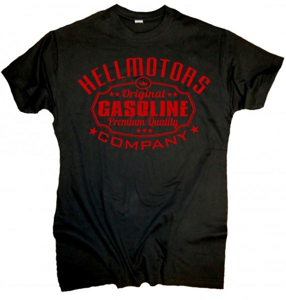 "Herren Old School T-Shirt ""Gasoline"" Red Edition"
