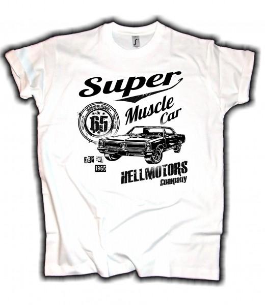 Herren T-Shirt Super Muscle Pontiac