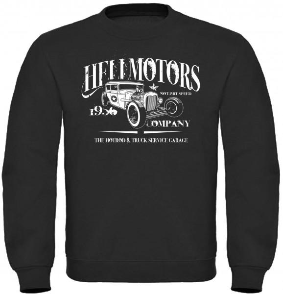 Herren Sweatshirt Hotrod 1956