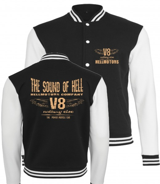 Sound of Hell College Jacke