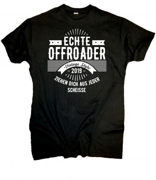 """Herren Fun T-Shirt """"Offroader"""""""
