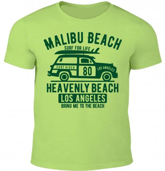 Herren T-Shirt Malibu Beach