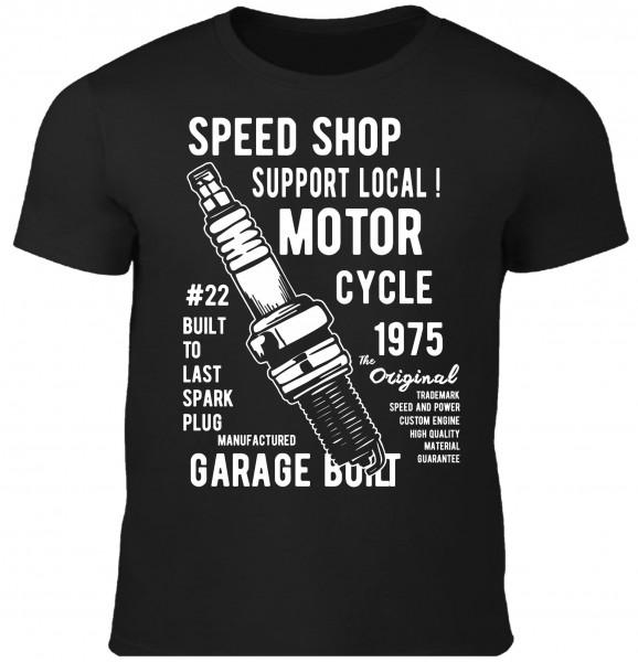 Herren T-Shirt Spark Plug
