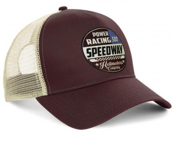 "HELLMOTORS CAP ""Speed Racing"" Chocolate"