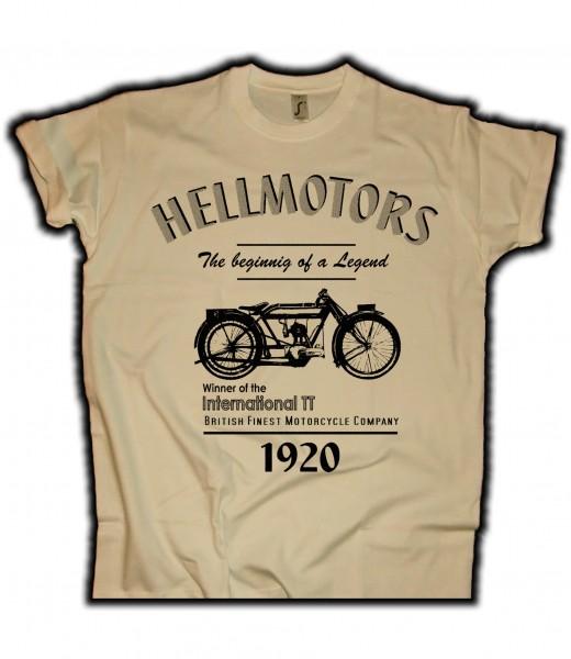 Herren Biker T-Shirt Norton Tourist