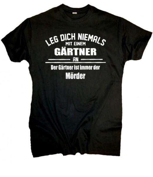 "Herren Fun T-Shirt ""Gärtner"""