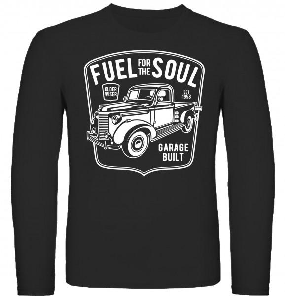 Herren Longsleeve Fuel for the Soul