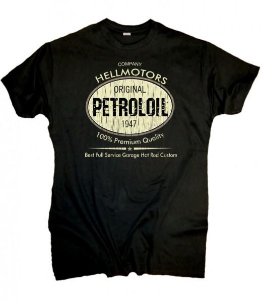 """Herren T-Shirt Old School """"Petroloil"""""""