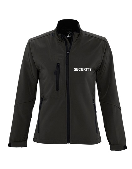 Security Damen Softshell Jacke Dickes Material