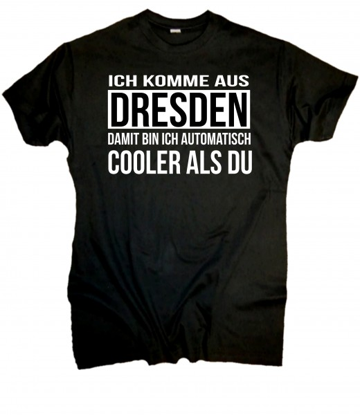 Herren Fun T-Shirt - cooler Dresdner