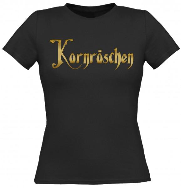 Damen T-Shirt Kornröschen - Gold