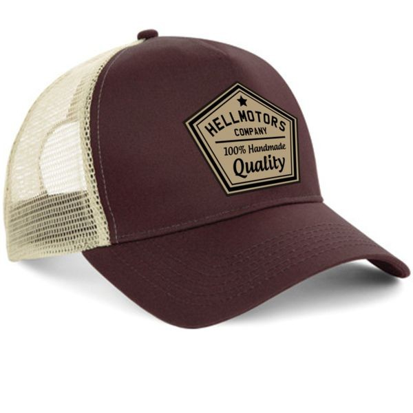 "HELLMOTORS CAP ""Quality"" Chocolate"