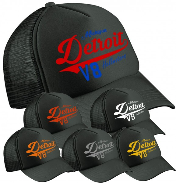 Trucker Cap Detroit - Black Edition