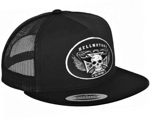 "HELLMOTORS SNAPBACK CAP ""Kill Your Idols""-schwarz"