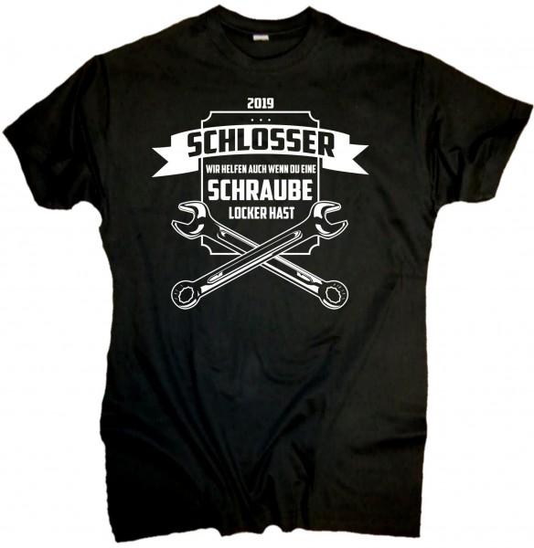 """Herren Fun T-Shirt """"Schlosser"""""""