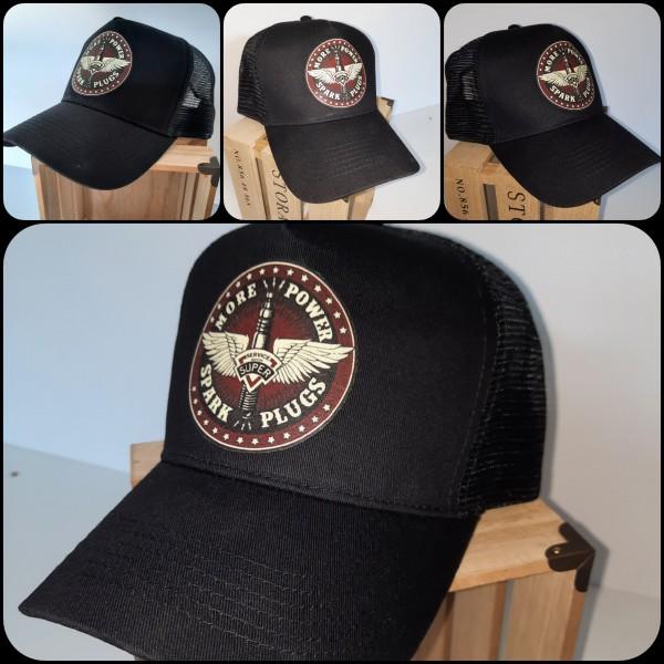 Trucker CAP V8 Power schwarz