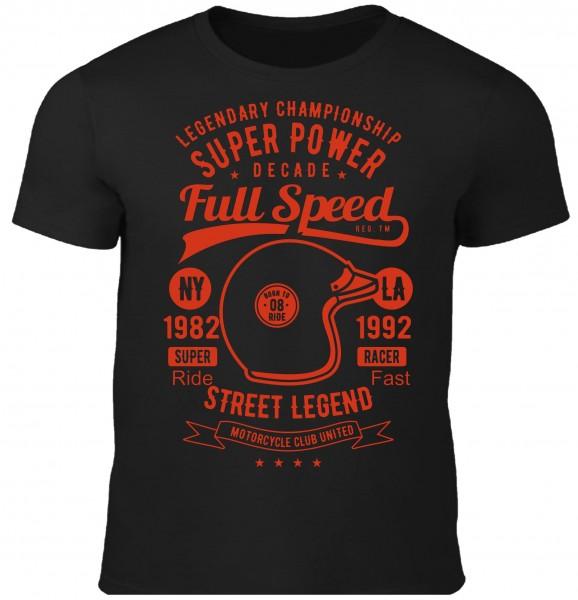 Herren T-Shirt Full Speed