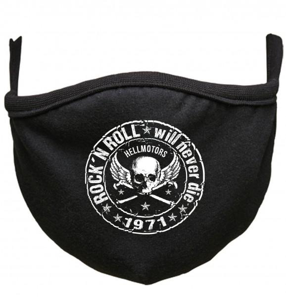 Rock n Roll Behelfs-Mund-Nasen-Maske