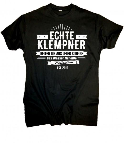 """Herren Fun T-Shirt """"Klempner 2"""""""