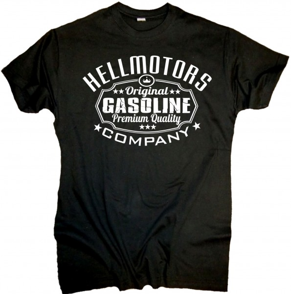 "Herren Old School T-Shirt ""Gasoline"""
