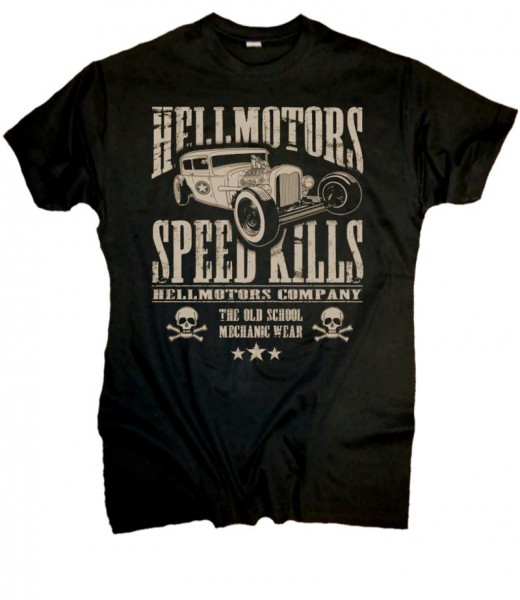 "Herren T-Shirt HotRod Style ""Speed Kills"""