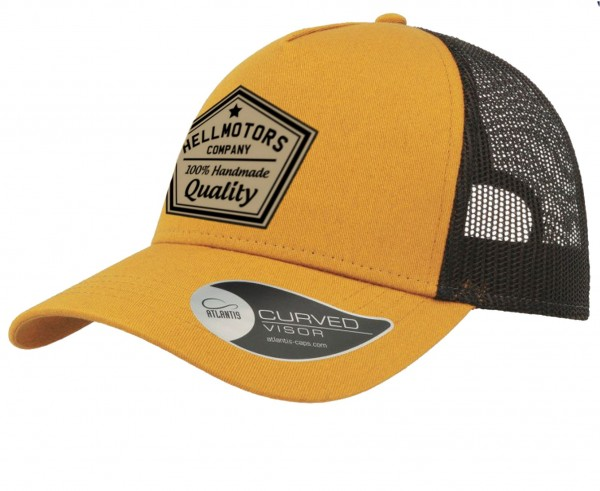 Trucker Cap - Quality - Mustard/Black