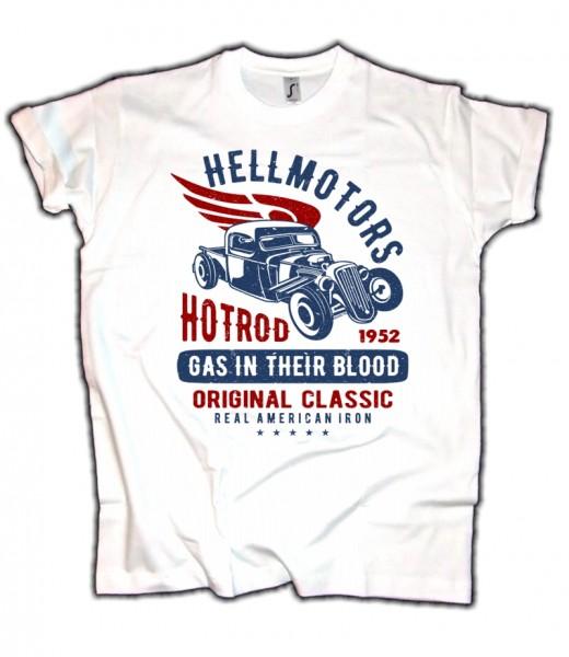 Herren T-Shirt Wings & HotRod