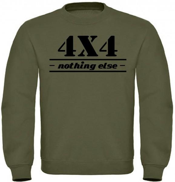Herren Sweatshirt 4x4 Offroad