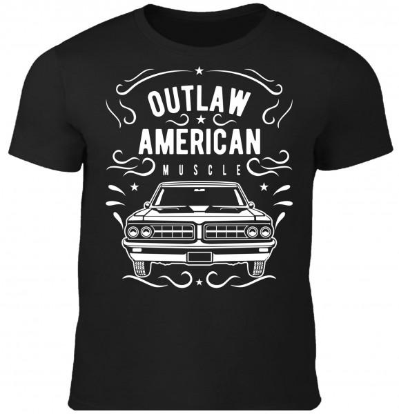 Herren T-Shirt Outlaw American Muscle