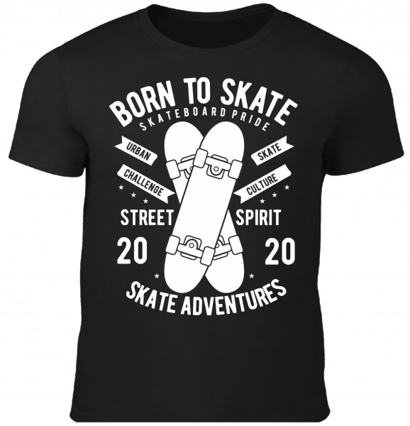 Kinder T-Shirt Born to Skate