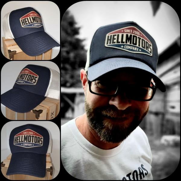 Hellmotors Original Trucker Cap Since 2006 Record-Navy