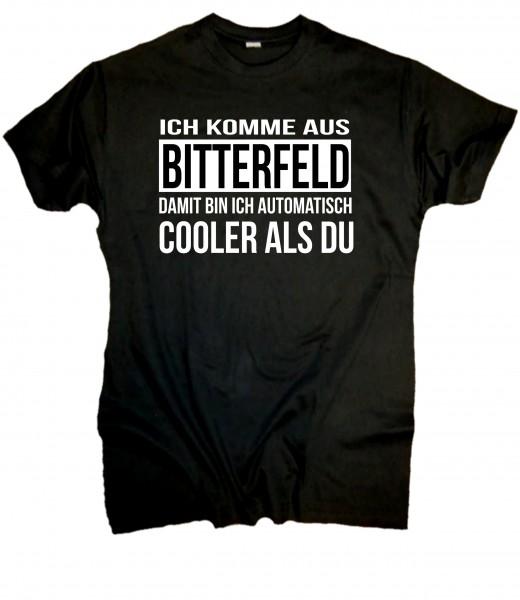 Herren Fun T-Shirt- Bitterfelder