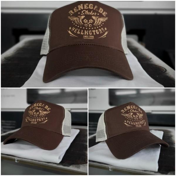 HELLMOTORS Trucker CAP Renegade Chocolate