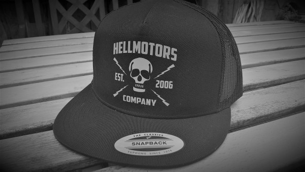 "HELLMOTORS SNAPBACK CAP ""Company 2006"" Grau"