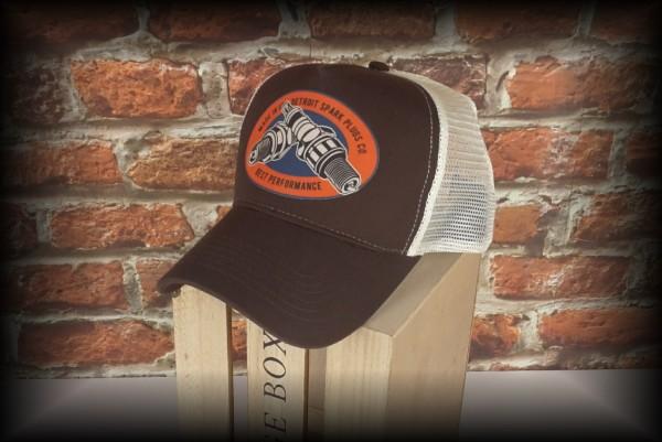 "HELLMOTORS Trucker CAP ""Detroit Spark"""