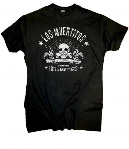 """Herren Biker T-Shirt """"Muertitos"""""""