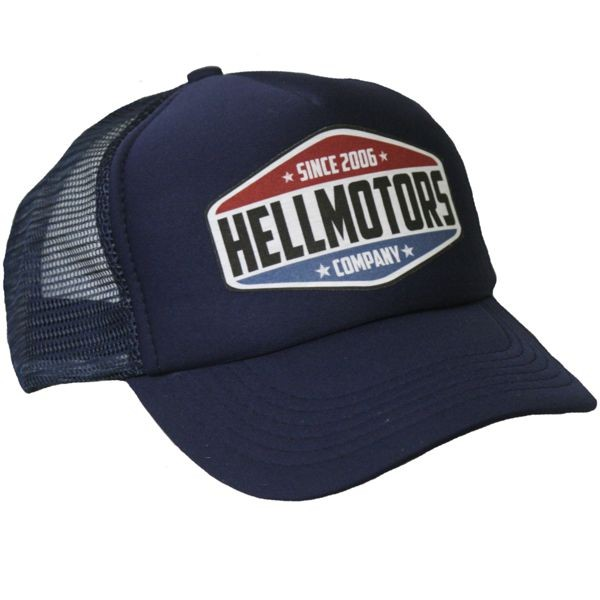 "HELLMOTORS CAP ""Hellmotors since 2006"" Navy"