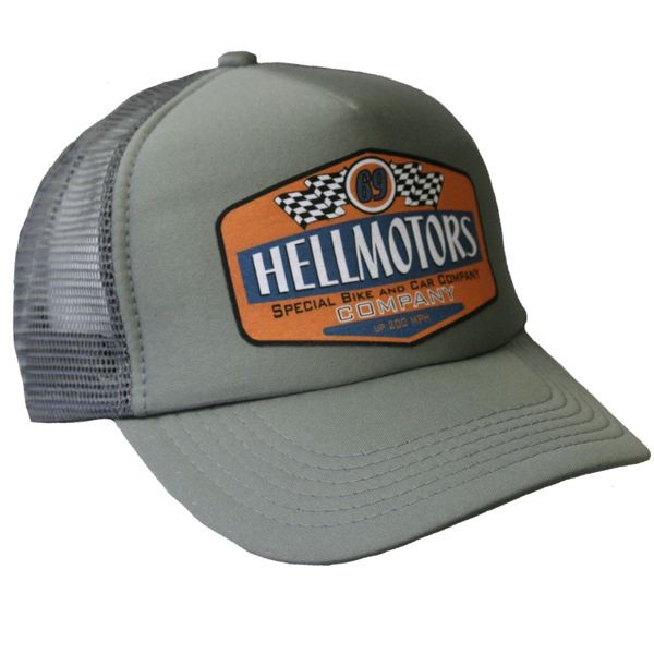 "HELLMOTORS CAP ""69"" Grau/Orange"