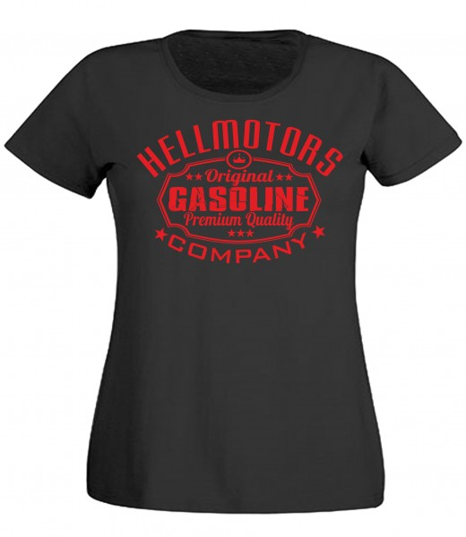 Damen T-Shirt Gasoline