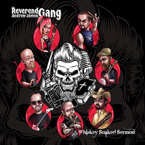 CD The Reverend Andrew Jaes Gang - Whisky Soaked Sermon