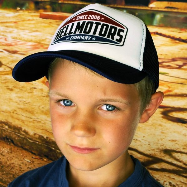 "HELLMOTORS KINDER CAP ""Hellmotors since"""