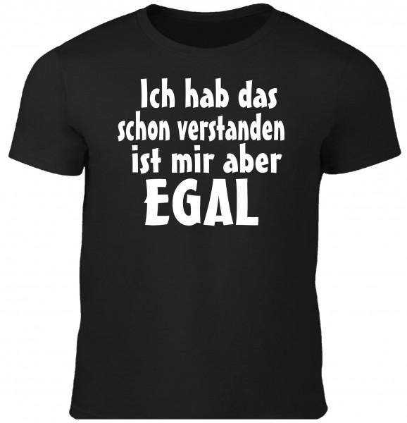 Herren Fun T-Shirt - ist mir egal