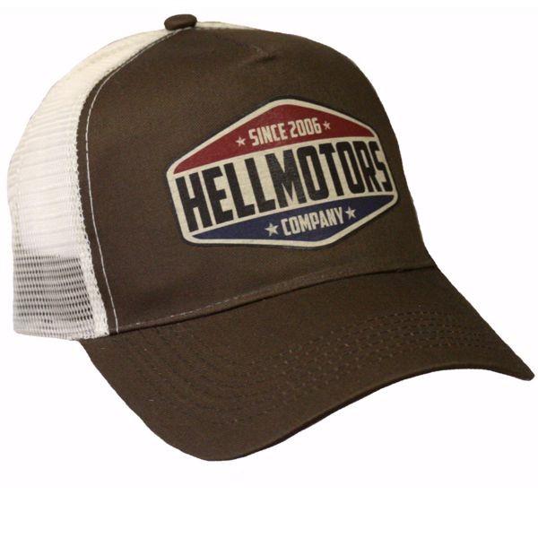 "HELLMOTORS CAP ""since 2006"" Chocolate"