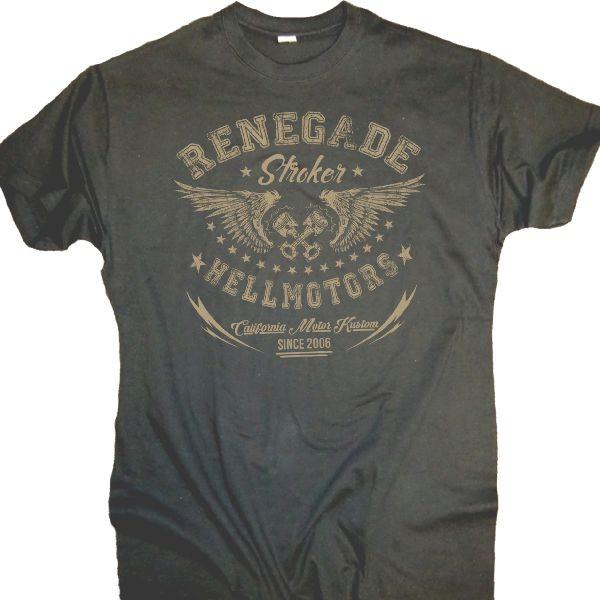 "Herren T-Shirt OLDSCHOOL Style ""Renegade"" grau"