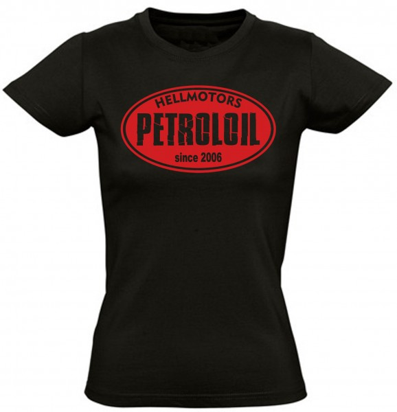 Damen T-Shirt Petroloil