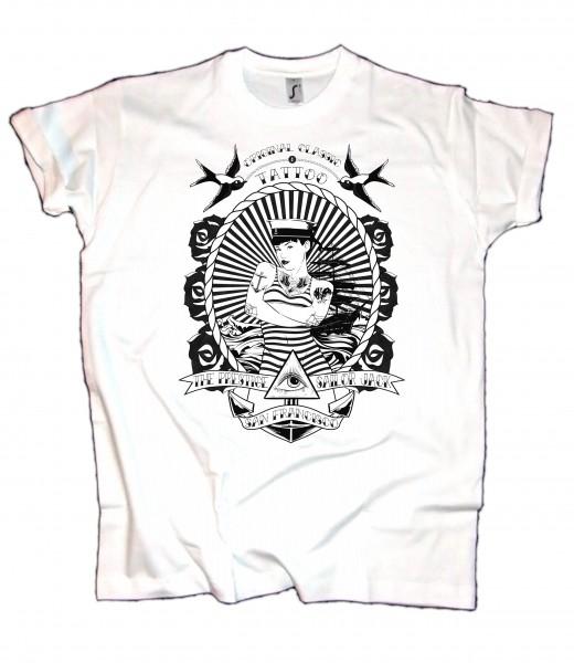 Herren T-Shirt Sailor Classic sw