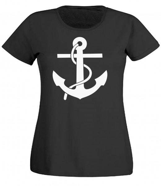 Damen T-Shirt Anker