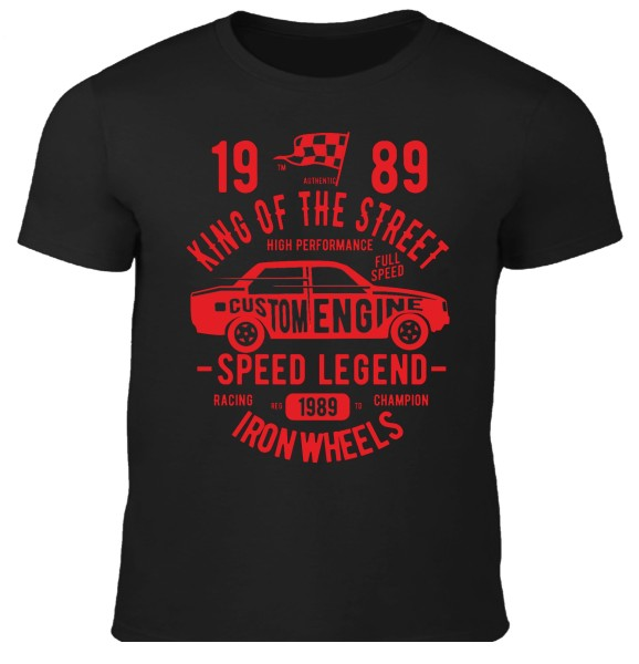 Herren T-Shirt King of the Street