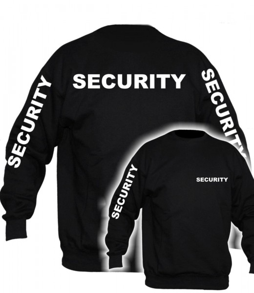 Damen Security Pullover - mit Ärmeldruck